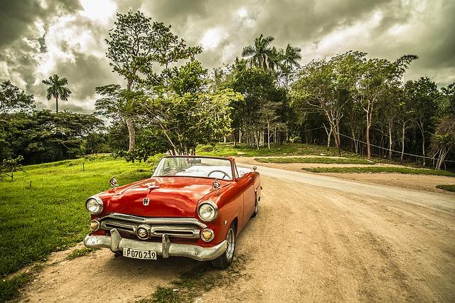 Kuba, autó