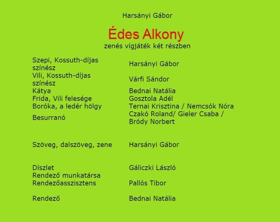 Bejegyzesbe Edes Alkony 01.18