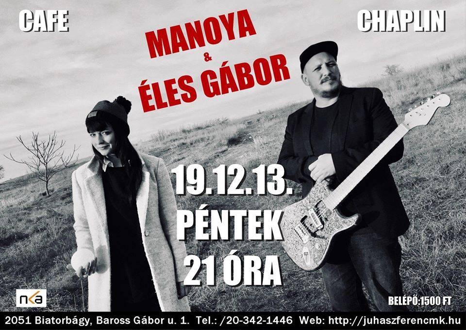 Manoya és Éles Gábor