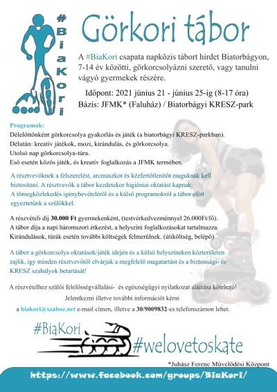 #BiaKori tábor