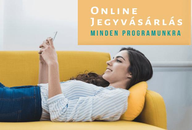Online jegyvásárlás a Faluházban