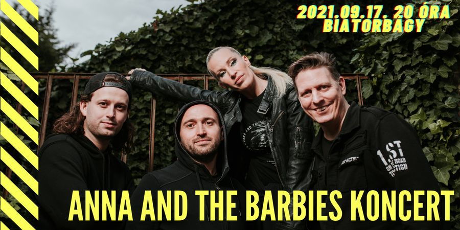 Anna and the Barbies koncert